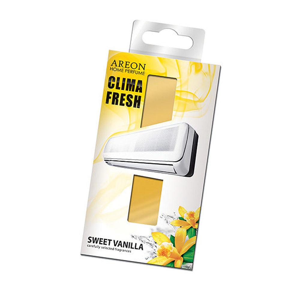 Osviežovač vzduchu do klimatizácie Areon Clima Fresh – vôňa Sweet Vanilla