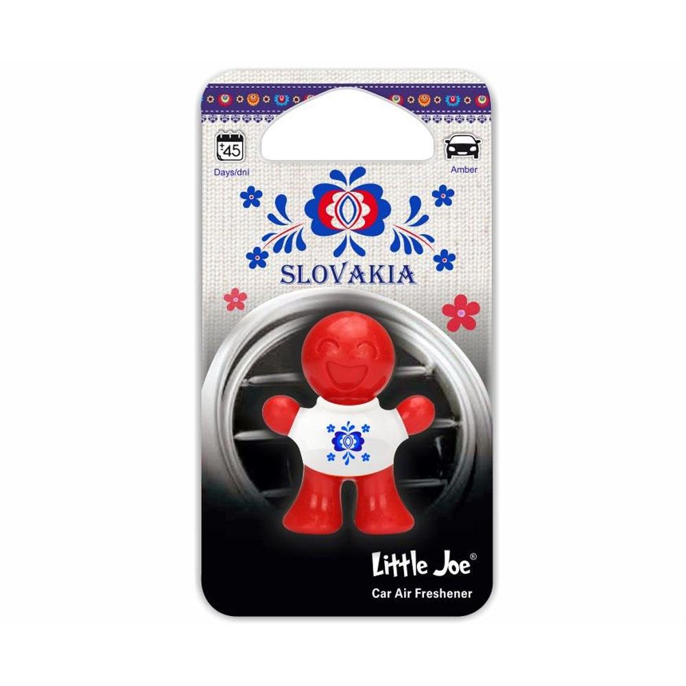 Osviežovač vzduchu Little Joe 3D – vôňa Amber, ľudový