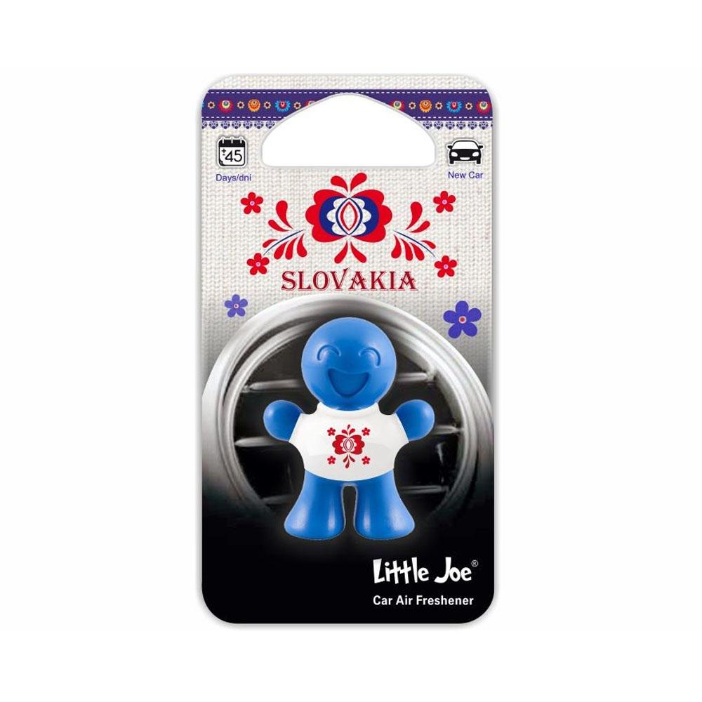 Osviežovač vzduchu Little Joe 3D – vôňa New Car, ľudový