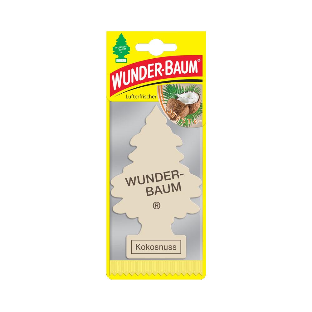 Osviežovač vzduchu WunderBaum – vôňa Coconut