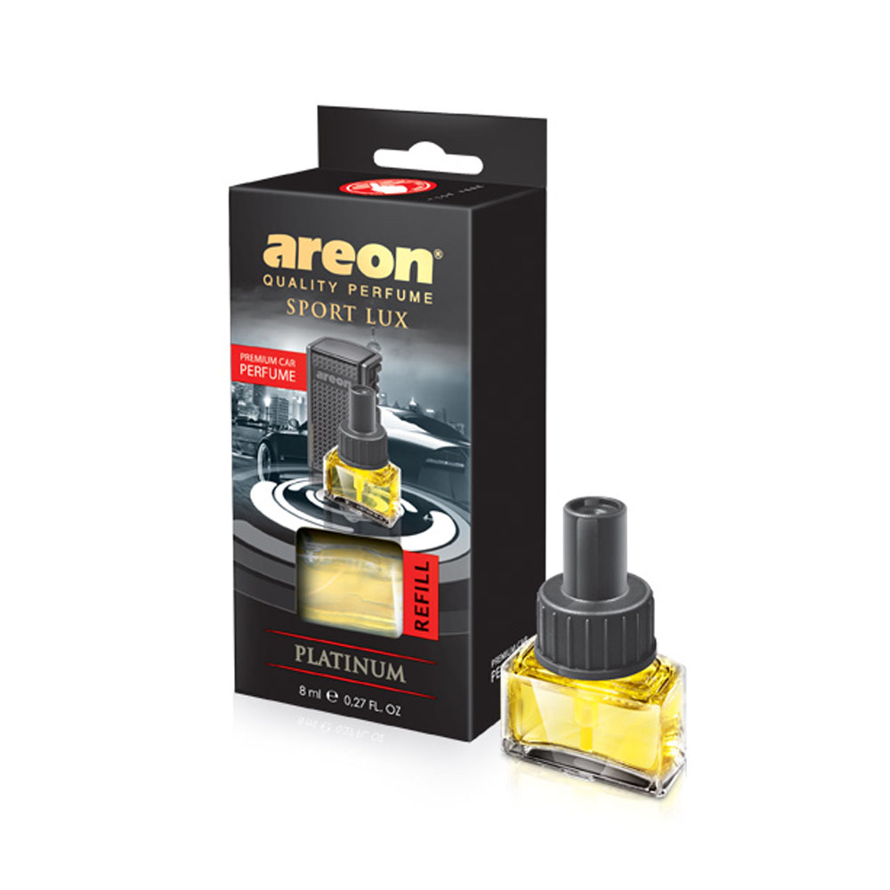 Náplň do osviežovača vzduchu Areon Car - vôňa Platinum