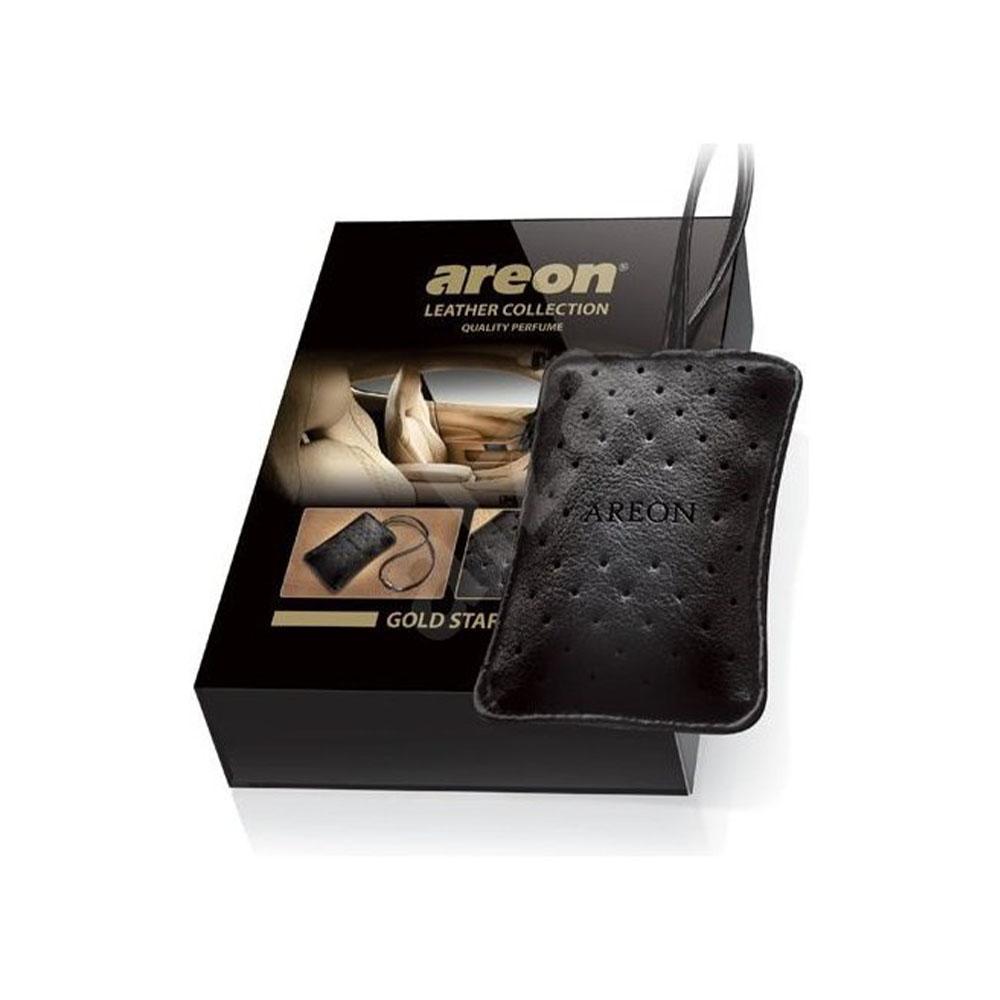 Osviežovač vzduchu Areon Leather Collection – vôňa Gold Star