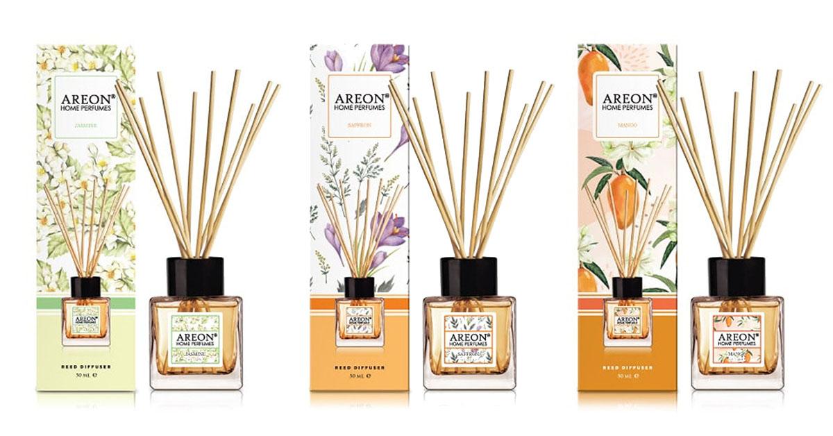 Areon Sticks 50 ml - ukážka viacerých variant vôní