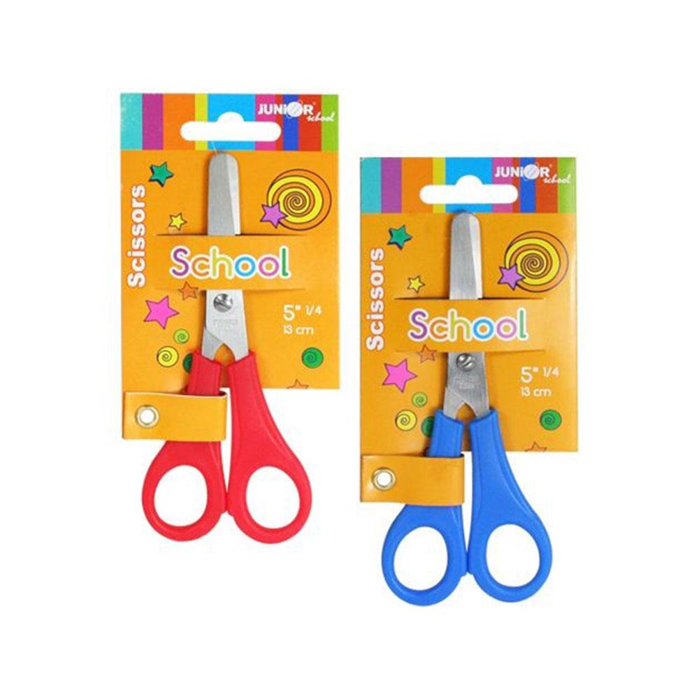 Detské nožnice s pravítkom
