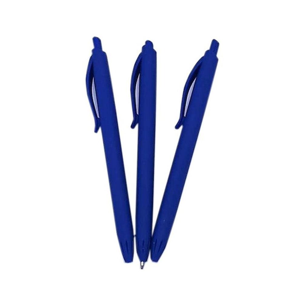 Guličkové pero pogumované, modré