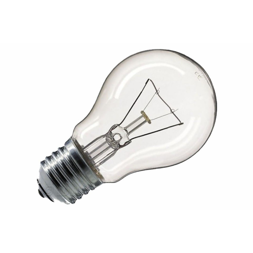 Klasická žiarovka E27 60W TechLamps, nevhodná pre domácnosť