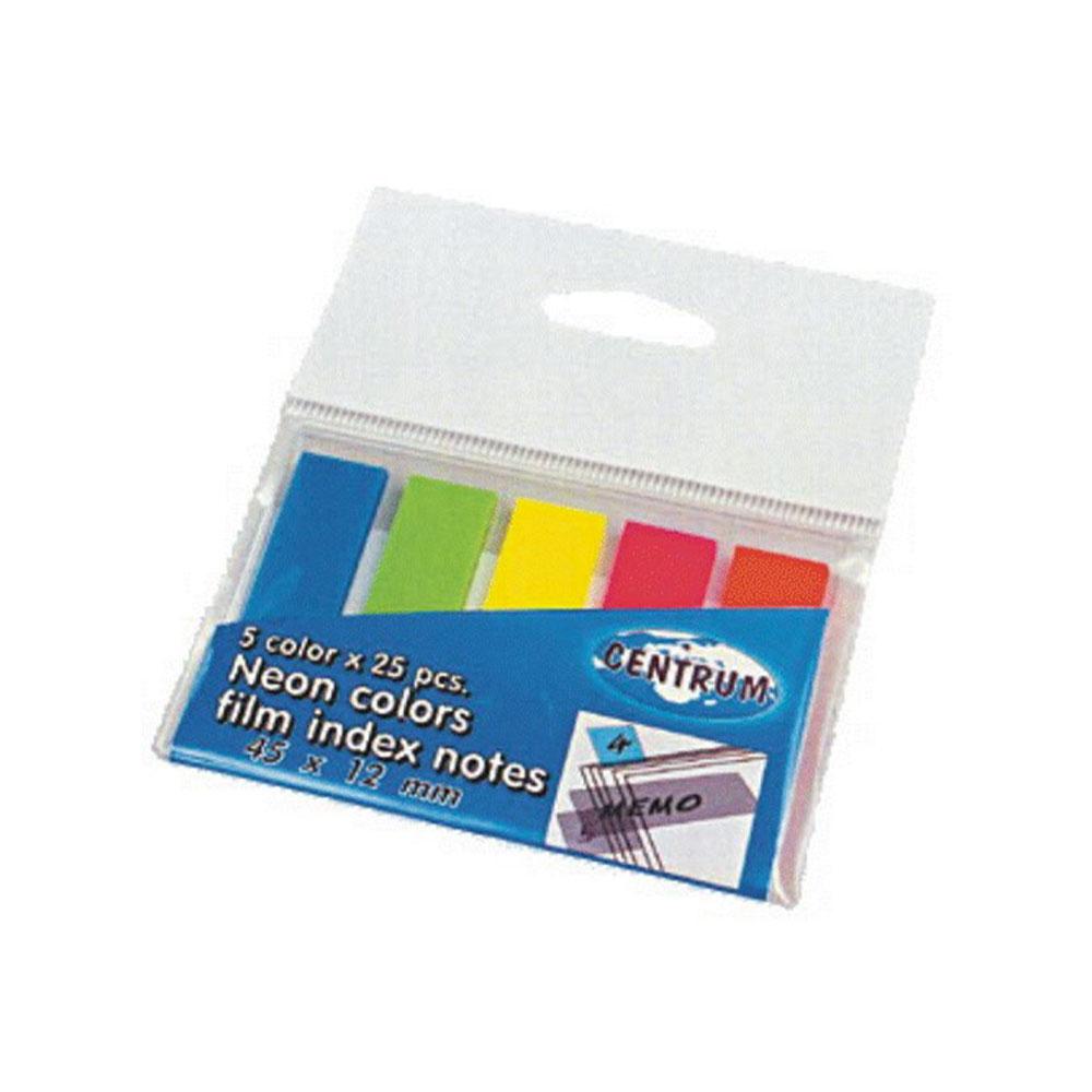 Nalepovacie lístky farebné, 45x12mm