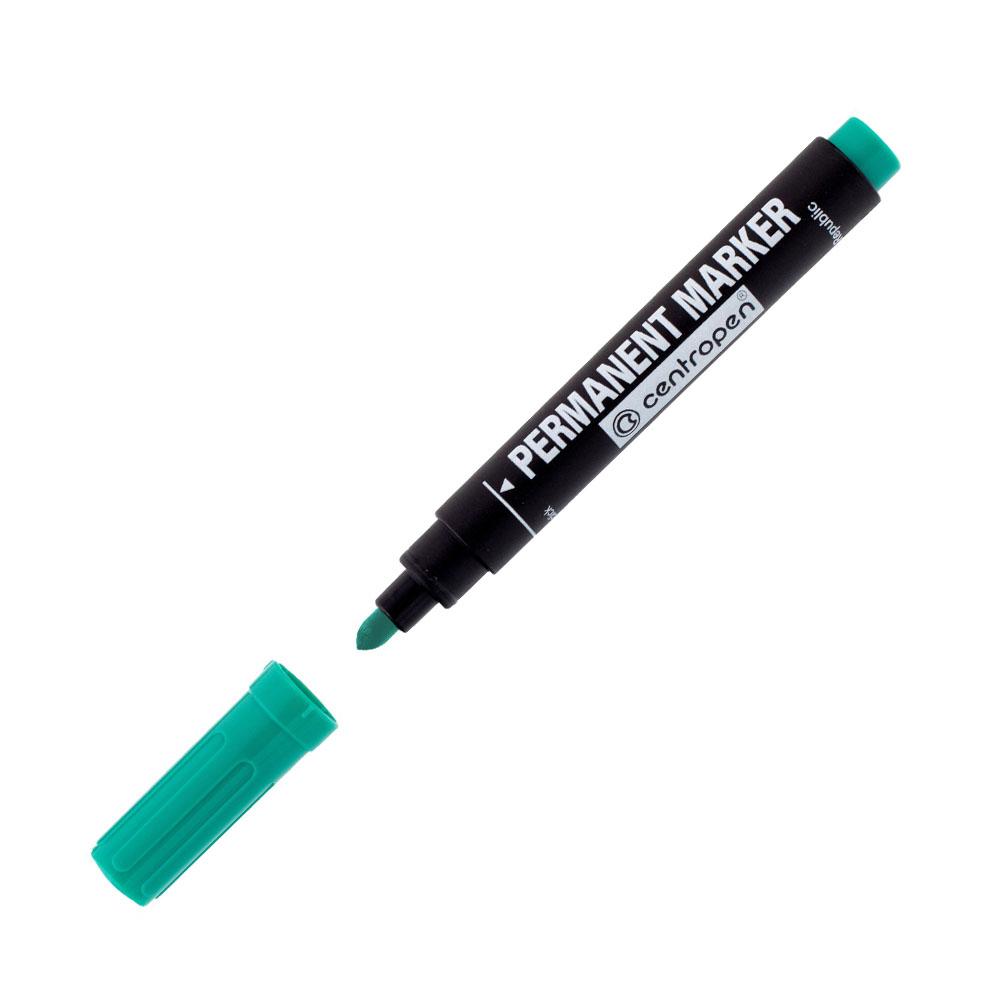 Permanentný popisovač zelený