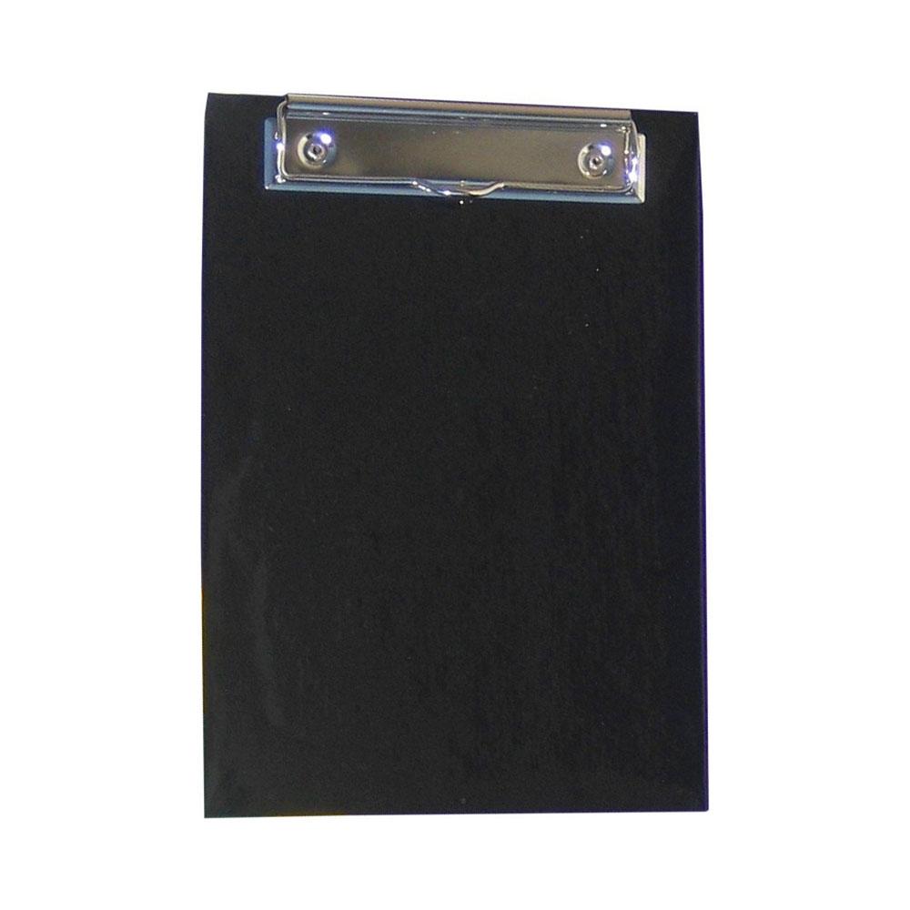 Podložka na písanie s klipom A4 - farba čierna