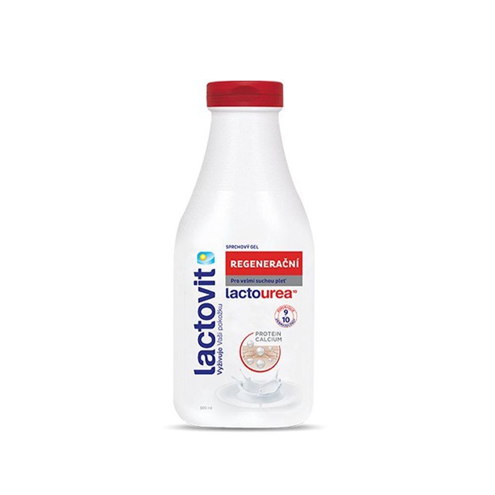 Regeneračný sprchový gél Lactovit LACTOUREA, 500 ml