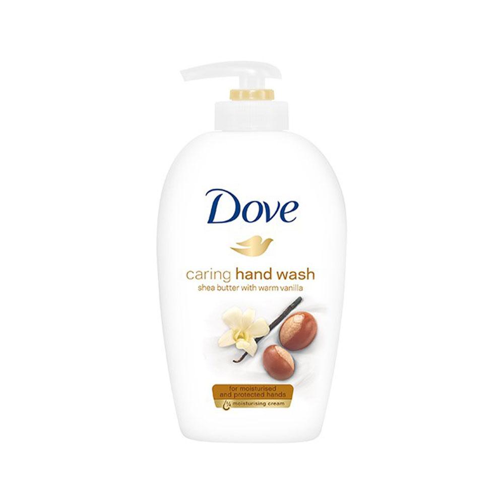 Tekuté mydlo Dove Shea butter with warm vanilla