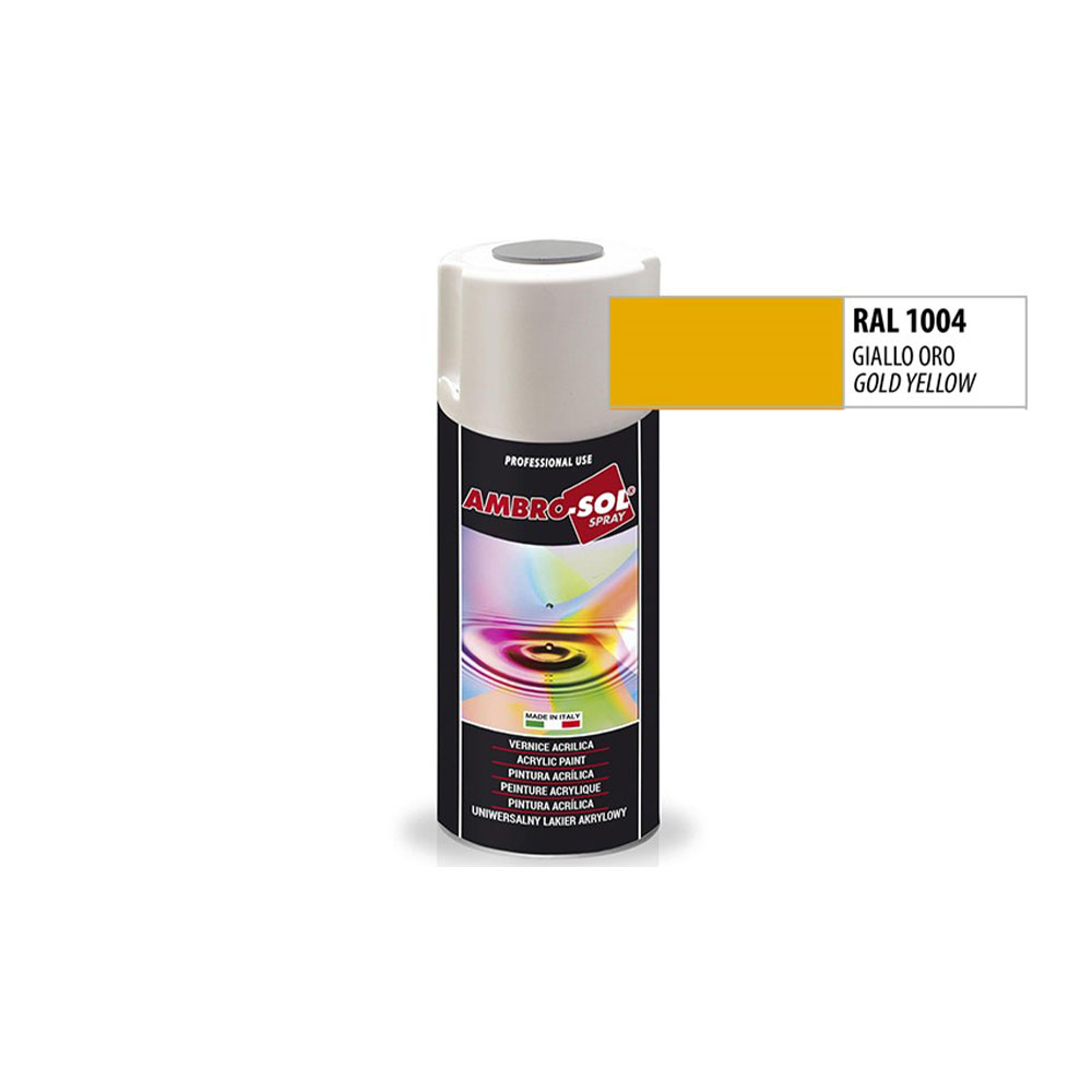 Univerzálna akrylová farba, RAL 1004