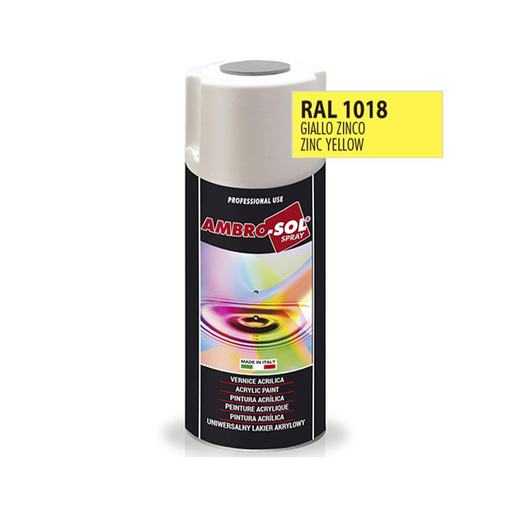 Univerzálna akrylová farba, RAL 1018