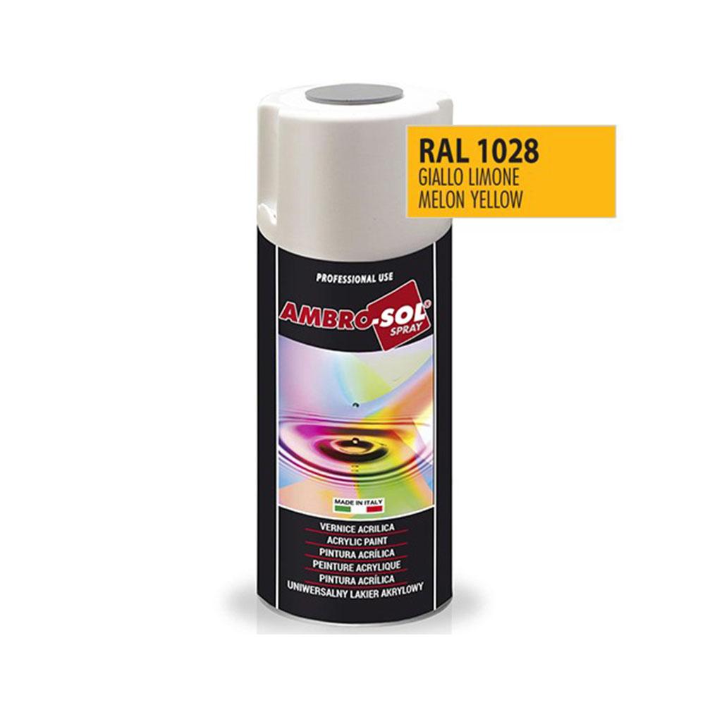 Univerzálna akrylová farba, RAL 1028
