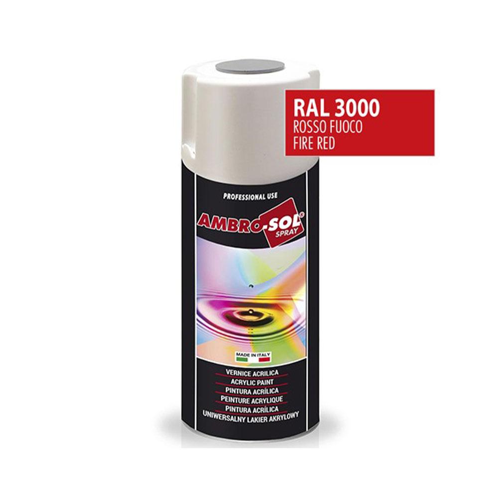 Univerzálna akrylová farba, RAL 3000