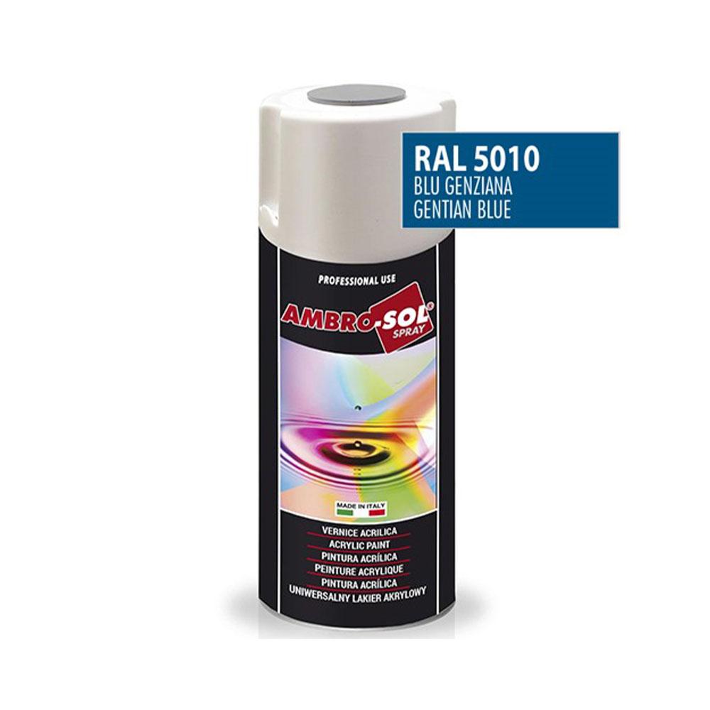 Univerzálna akrylová farba, RAL 5010