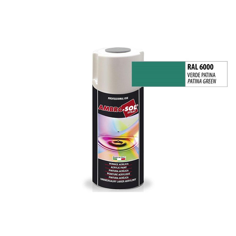 Univerzálna akrylová farba, RAL 6000
