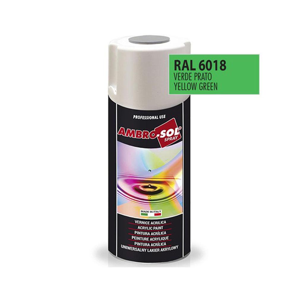 Univerzálna akrylová farba, RAL 6018