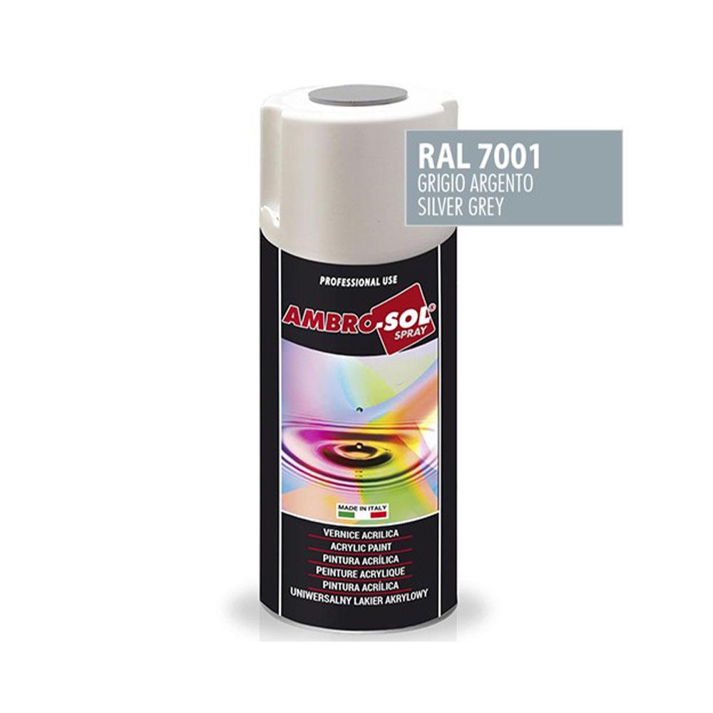 Univerzálna akrylová farba, RAL 7001