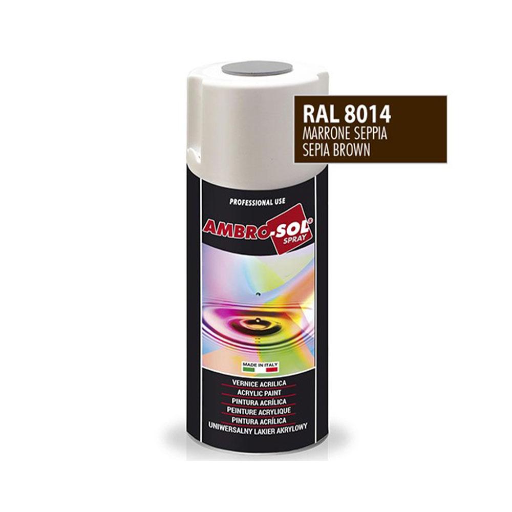 Univerzálna akrylová farba, RAL 8014
