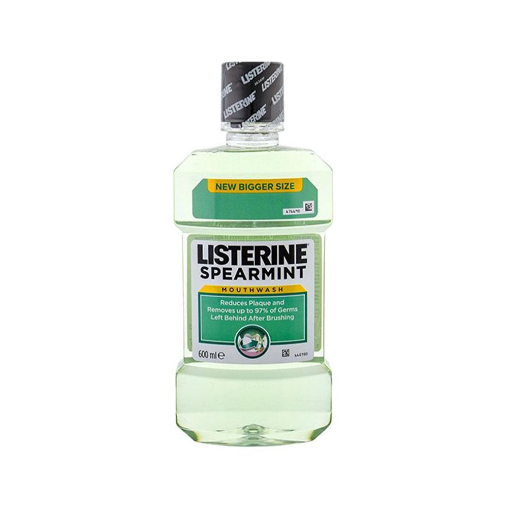 Ústna voda Listerine Spearmint, 600ml