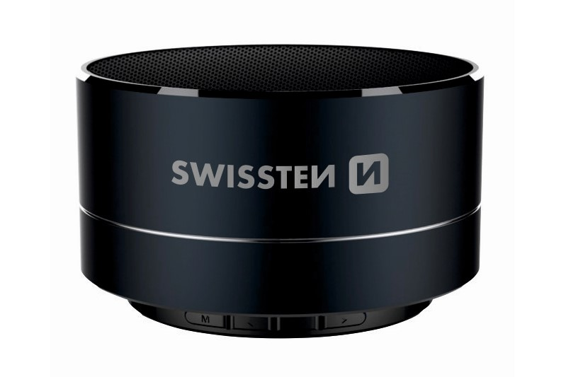 Bluetooth reproduktor Swissten i-metal čierny