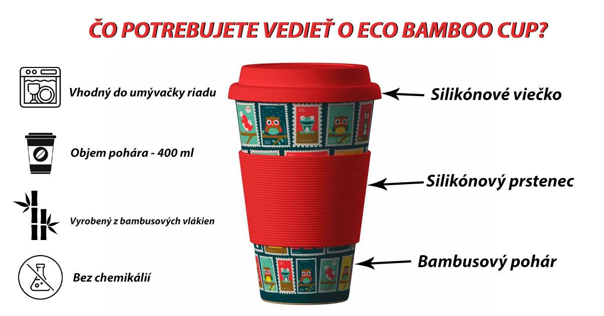 Ekologický pohár na kávu alebo čaj