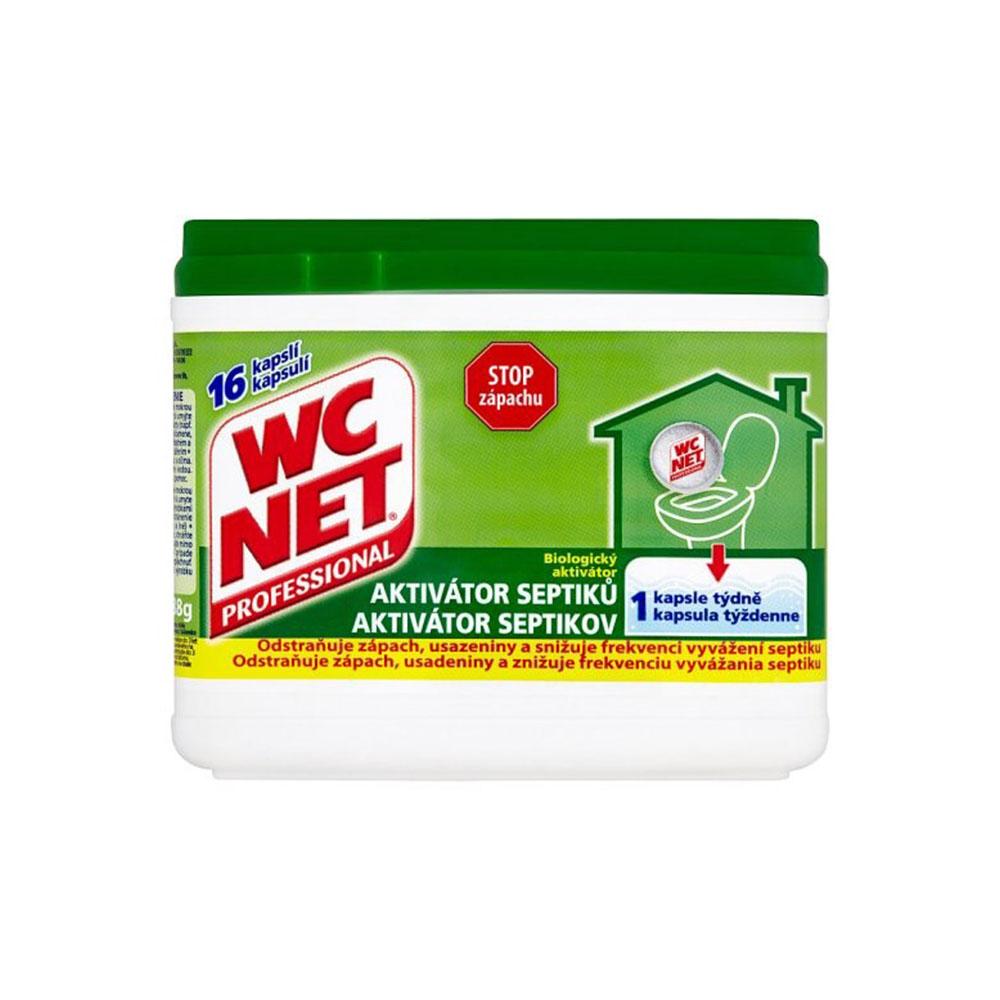 WC NET aktivátor septikov - 16 kapsulí