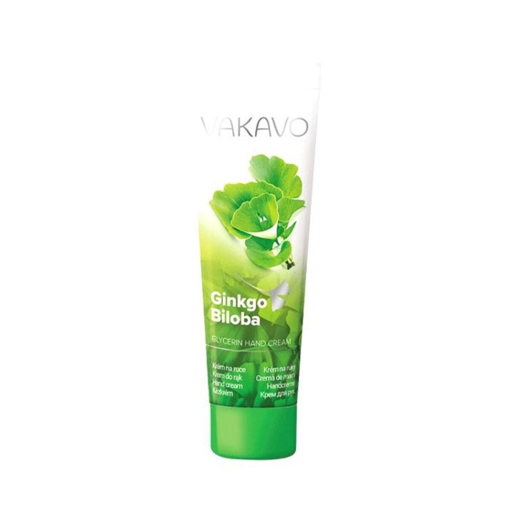 Krém na ruky VAKAVO - vôňa Ginkgo Biloba
