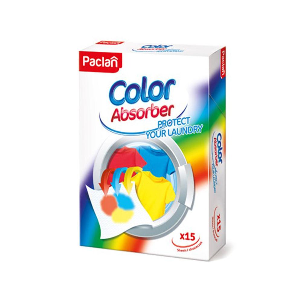 Obrúsky proti zafarbeniu prádla Paclan Color Absorber
