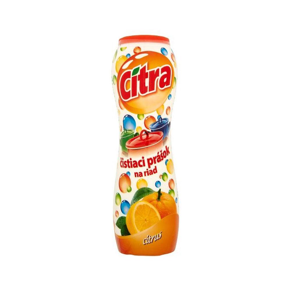 Práškový čistič s citrónovou vôňou CITRA
