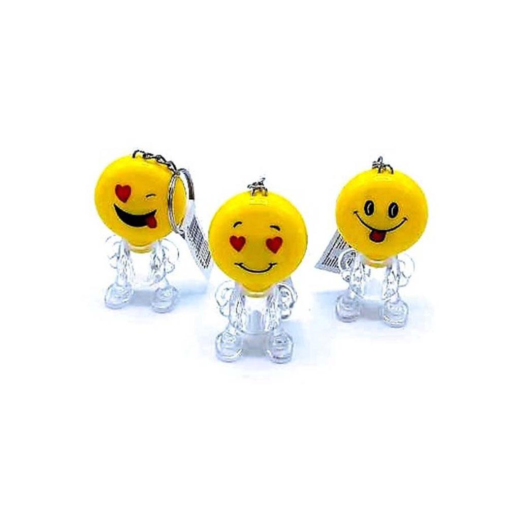 Prívesok svietiaci - vzor Smile