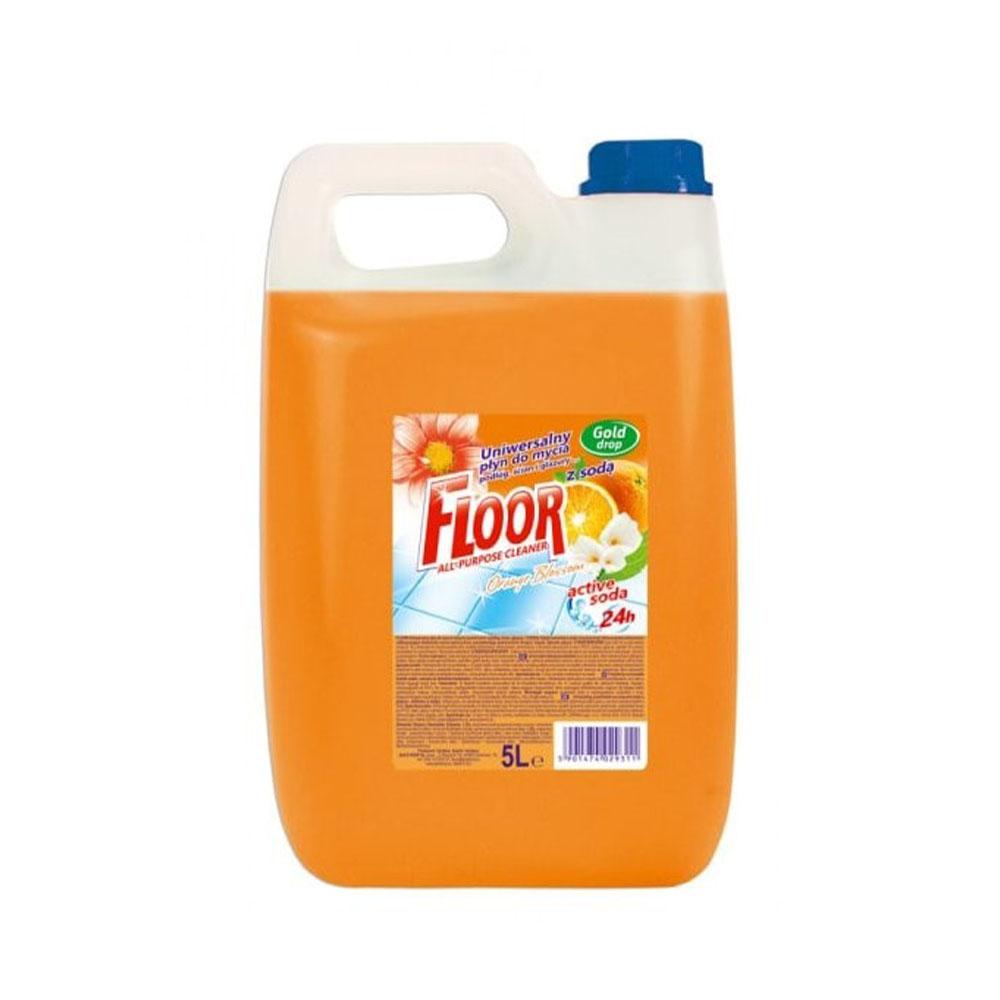 Univerzálny prípravok na umývanie podláh FLOOR - vôňa Orange Blossom