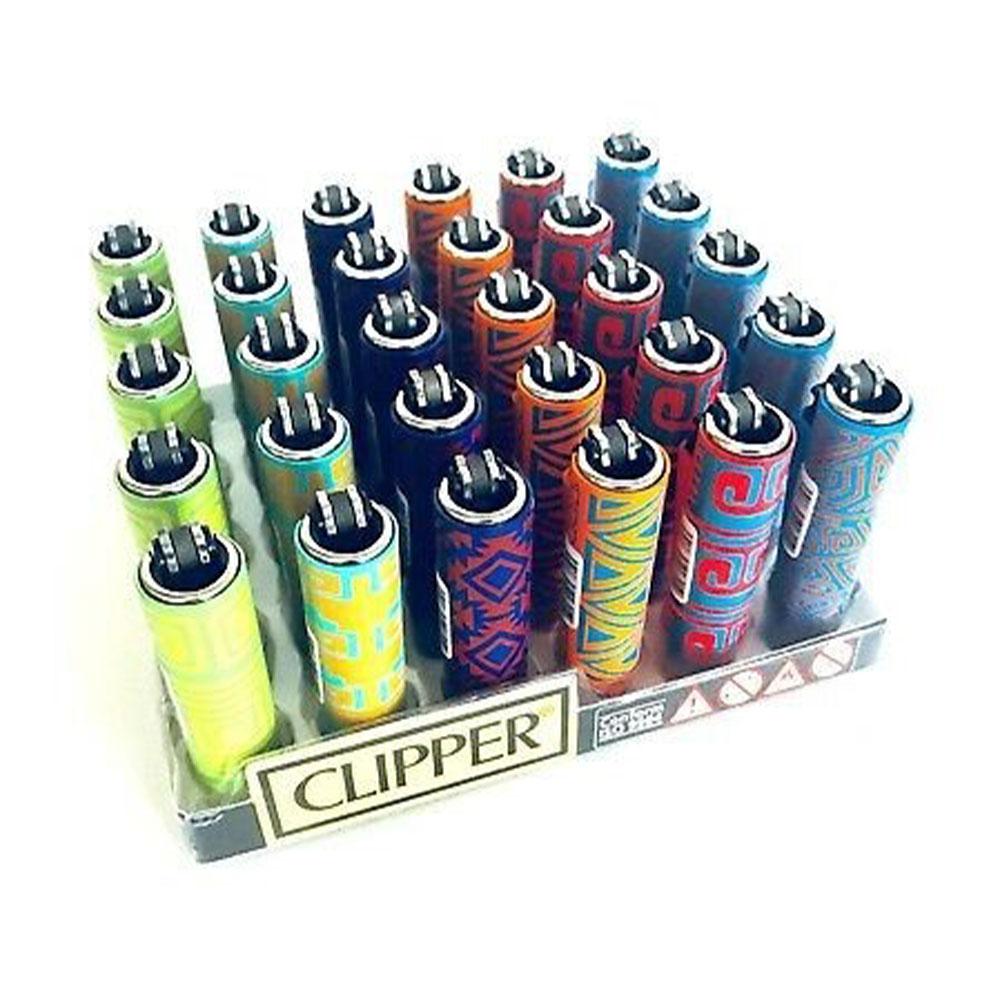 Zapaľovač malý CLIPPER - metalický